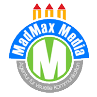 Logo der Firma MadMax Media UG - Werbung, Webdesign und Marketing